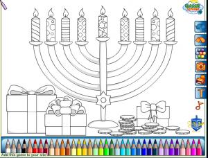 Hanukai színező