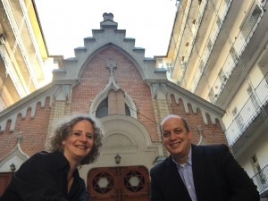 Rabbi Tamas and Linda Vero