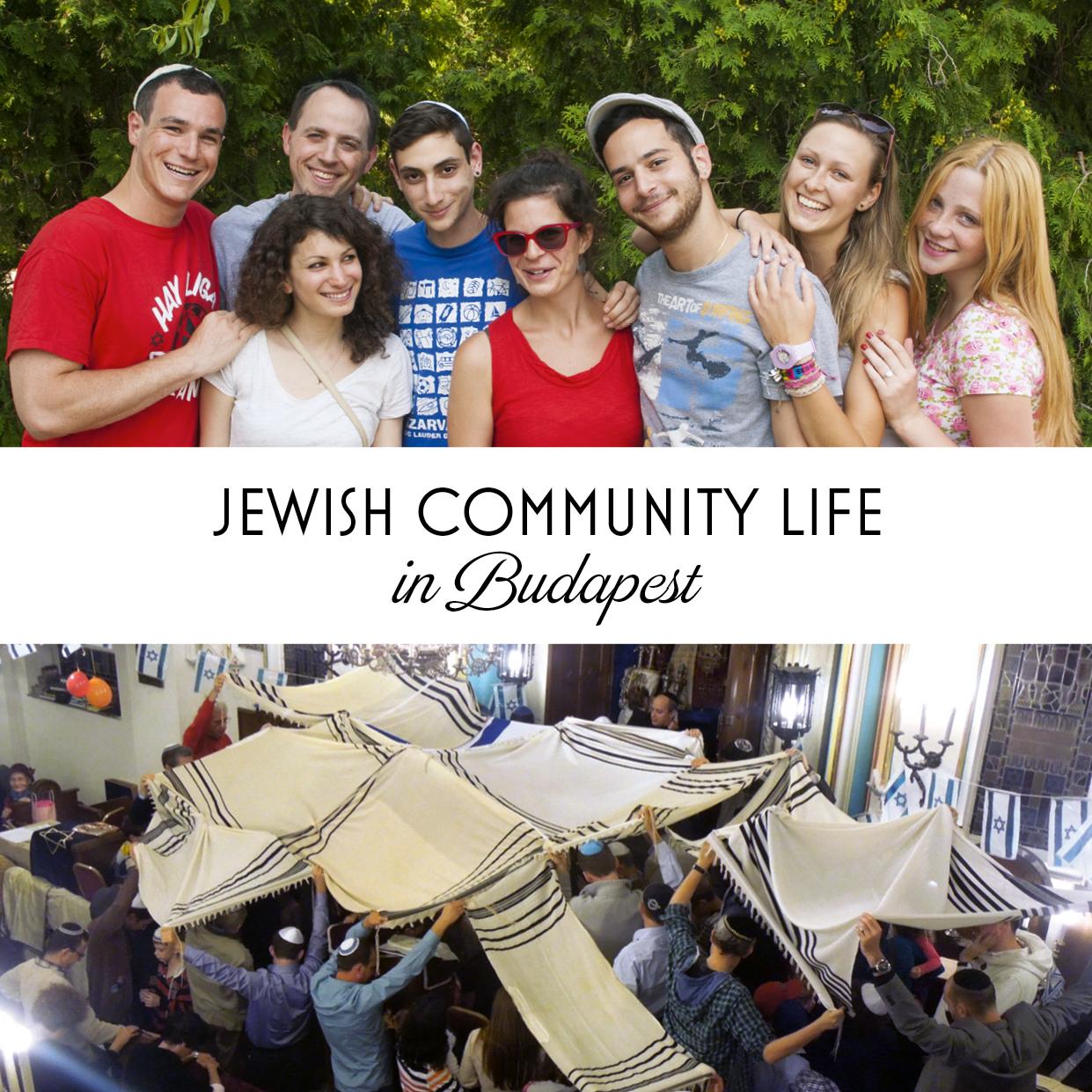 Jewish Life in Budapest